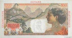 1 Nouveau Franc sur 100 F La Bourdonnais ANTILLES FRANÇAISES  1960 P.01a SUP+