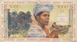 50 NF sur 5000 Francs ANTILLES FRANÇAISES  1961 P.03a TB+