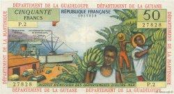 50 Francs ANTILLES FRANÇAISES  1964 P.09b SUP+