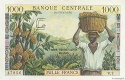 1000 Francs type 1960 CAMEROUN  1962 P.12 pr.SPL