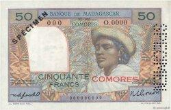 50 Francs COMORES  1960 P.02s1 pr.NEUF