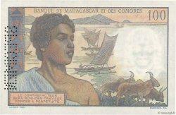 100 Francs COMORES  1960 P.03s1 pr.NEUF