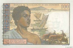 100 Francs COMORES  1960 P.03s2 pr.NEUF