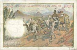 1000 Francs COMORES  1960 P.05b TTB+