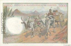1000 Francs COMORES  1960 P.05s1 NEUF