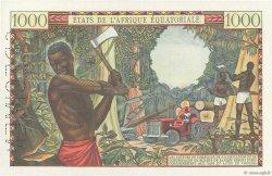 1000 Francs CONGO  1963 P.05Cs pr.NEUF