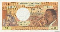 5000 Francs GABON  1978 P.04b SPL