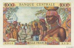 1000 Francs GABON  1963 P.05D pr.SUP