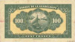 100 Francs type Américain GUADELOUPE  1944 P.23a TTB