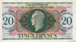 20 Francs type Anglais GUADELOUPE  1944 P.28a SPL