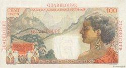100 Francs La Bourdonnais GUADELOUPE  1946 P.35 TTB+