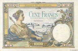 100 Francs GUYANE  1940 P.08 SUP+