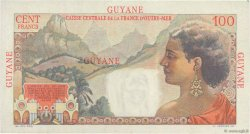 100 Francs La Bourdonnais GUYANE  1946 P.23a SUP