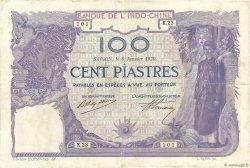 100 Piastres Saïgon INDOCHINE FRANÇAISE  1920 P.040 TTB