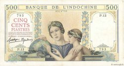 500 Piastres INDOCHINE FRANÇAISE  1939 P.057 pr.SUP