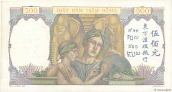500 Piastres FRENCH INDOCHINA  1939 P.057 XF-