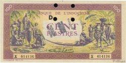 100 Piastres INDOCHINE FRANÇAISE  1942 P.067s SUP