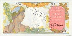 100 Piastres INDOCHINE FRANÇAISE  1947 P.082s NEUF
