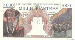 1000 Piastres INDOCHINE FRANÇAISE  1951 P.084s1 NEUF