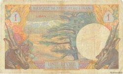 1 Livre LIBAN  1939 P.15 TB+