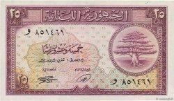 25 Piastres LIBAN  1950 P.42 SUP