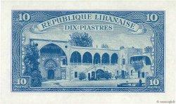 10 Piastres LIBAN  1950 P.47 NEUF