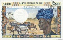 5000 Francs MALI  1984 P.14s SPL+