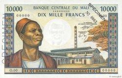 10000 Francs MALI  1984 P.15s SUP+