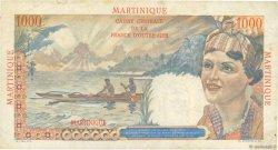 1000 Francs Union Française MARTINIQUE  1946 P.33 TTB
