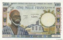 5000 Francs NIGER  1965 P.604AeS pr.NEUF