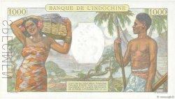 1000 Francs type 1938 NOUVELLE CALÉDONIE  1963 P.43s SPL