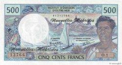 500 Francs NOUVELLES HÉBRIDES  1980 P.19c NEUF