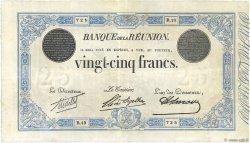 25 Francs ÎLE DE LA RÉUNION  1923 P.18c TTB+