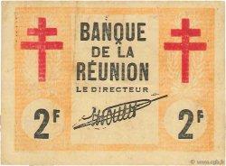 2 Francs ÎLE DE LA RÉUNION  1943 P.35 TTB+