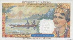 20 NF sur 1000 Francs Union Française ÎLE DE LA RÉUNION  1971 P.55b SPL