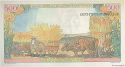 10 NF sur 500 Francs Pointe à Pitre SAINT PIERRE ET MIQUELON  1964 P.33 pr.NEUF