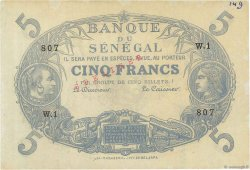 5 Francs Cabasson type 1874 SÉNÉGAL  1874 P.A1s pr.SPL