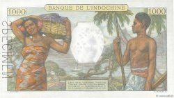 1000 Francs TAHITI  1954 P.15cS NEUF