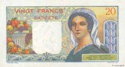 20 Francs TAHITI  1963 P.21c SUP+