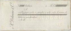 Francs FRANCE régionalisme et divers SECLIN 1860 DOC.Mandat SUP