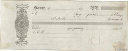 (B.P.) FRANCE régionalisme et divers LE HAVRE 1870 DOC.Lettre SUP