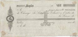 (B.P.) FRANCE régionalisme et divers Naples 1850 DOC.Lettre SUP
