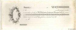 Francs FRANCE régionalisme et divers Paris 1840 DOC.Mandat TTB