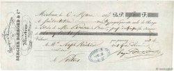 500 Francs FRANCE régionalisme et divers Mirebeau 1846 DOC.Lettre SUP