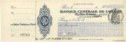 Francs FRANCE régionalisme et divers Paris 1924 DOC.Chèque NEUF