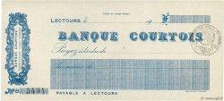 Francs FRANCE régionalisme et divers Lectoure 1915 DOC.Chèque SPL