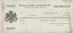 Francs FRANCE régionalisme et divers Paris 1863 DOC.Lettre TTB