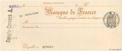 Francs FRANCE régionalisme et divers Bernay 1924 DOC.Chèque SPL