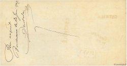 53998,90 Francs FRANCE régionalisme et divers BORDEAUX 1907 DOC.Chèque SUP