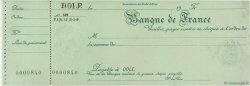 Francs FRANCE régionalisme et divers DOLE 1924 DOC.Chèque SPL